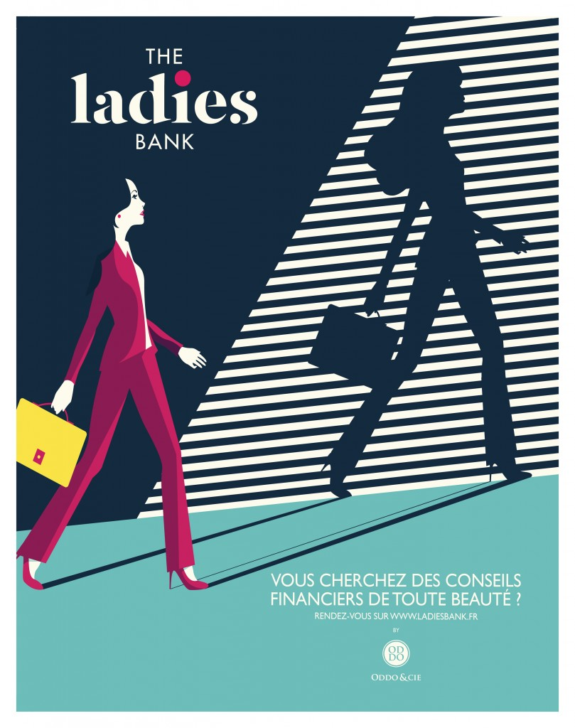 The Ladies Bank Madame Figaro